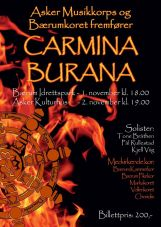 Choriolis og andre -Carmina-Burana-Asker og Bærum 2014
